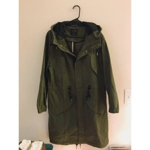 NWT Forever 21 Utility Trench Coat